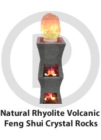 Natural Rhyolite Volcanic Feng Shui Crystal Rocks